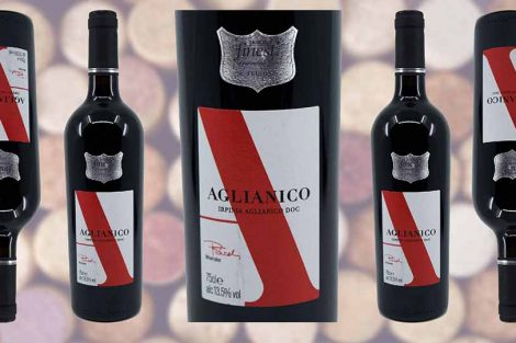 Tesco Finest Aglianico wine bottle and label from Winedup Club wine reviews