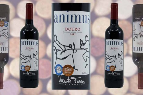 Aldi Animus Douro wine bottle and label from Winedup Club wine reviews