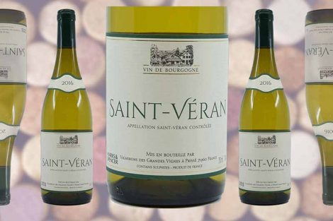 Marks and Spencer Saint Veran wine bottle and label from Winedup Club wine reviews