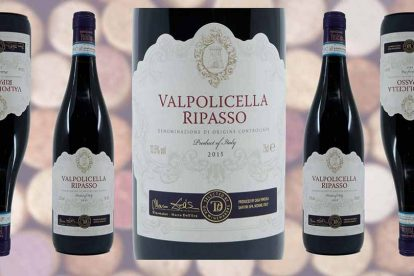 Sainsburys Valpolicella Ripasso wine bottle and label from Winedup Club wine reviews